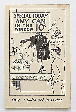 Man Looking At Woman In Window