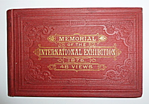 1876 International Exhibition Memorial Photo Book