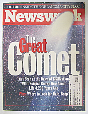 Newsweek Magazine March 24, 1997 The Great Comet