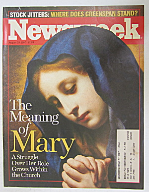 Newsweek Magazine August 25, 1997 Meaning Of Mary