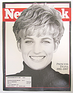 Newsweek Magazine September 8, 1997 Princess Diana