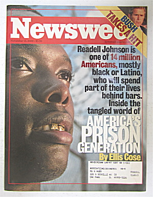 Newsweek Magazine November 13, 2000 America's Prisons