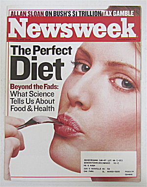 Newsweek Magazine January 20, 2003 The Perfect Diet