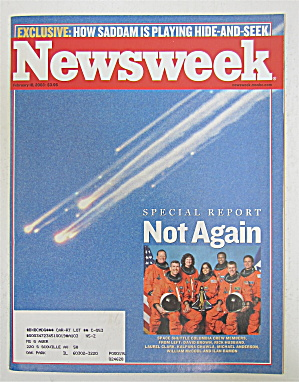 Newsweek Magazine February 10, 2003 Not Again
