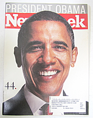 Newsweek Magazine November 17, 2008 President Obama