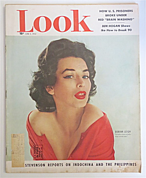 Look Magazine June 2, 1953 Dorian Leigh