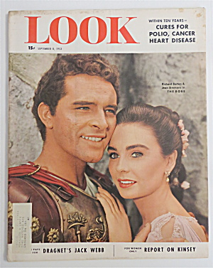 Look Magazine September 8, 1953 Burton & Simmons