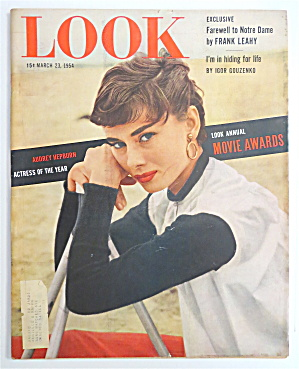 Look Magazine March 23, 1954 Audrey Hepburn