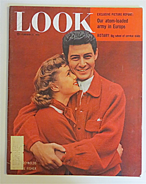 Look Magazine February 22, 1955 Reynolds & Fisher