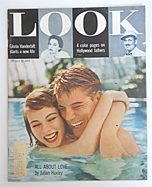 Look Magazine July 12, 1955 All About Love
