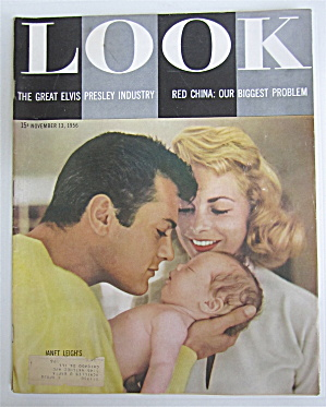 Look Magazine November 13, 1956 Janet Leigh's 1st Baby