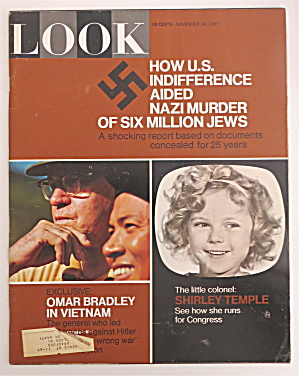 Look Magazine November 14, 1967 Shirley Temple
