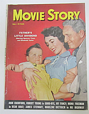 Movie Story Magazine June 1951 Father's Little Dividend