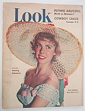 Look Magazine July 18, 1950 Working Debutante