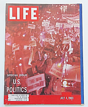 Life Magazine July 4, 1960 U.s. Politics