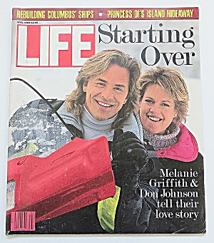Life Magazine April 1989 Melanie & Don