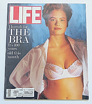 Life Magazine June 1989 The Bra