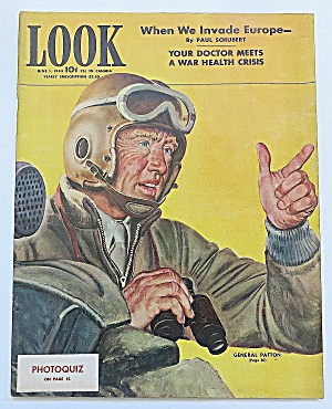 Look Magazine June 1, 1943 Invade Europe