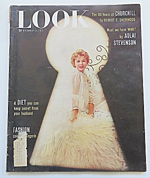 Life Magazine November 16, 1954 Fashion