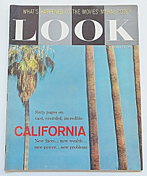 Look Magazine September 29, 1959 California