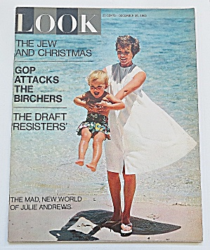 Look Magazine December 28, 1965 Julie Andrews