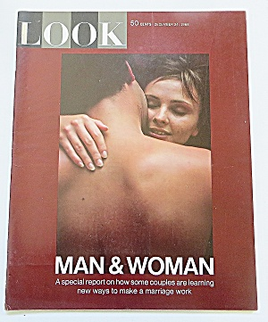 Look Magazine December 24, 1968 Man & Woman