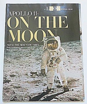 Look Magazine 1969 Apollo 11: On The Moon