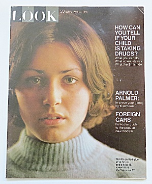 Look Magazine April 7, 1970 Kids & Drugs