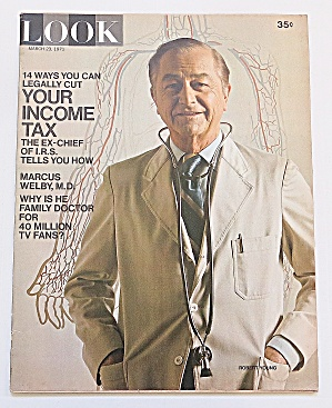 Look Magazine March 23, 1971 Marcus Welby