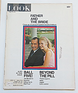 Look Magazine June 15, 1971 Father & Bride