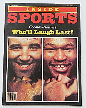 Inside Sports June 1982 Cooney - Holmes