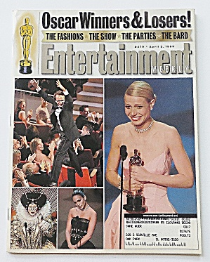 Entertainment April 2, 1999 Oscar Winners & Losers