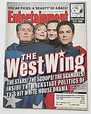 Entertainment February 25, 2000 West Wing