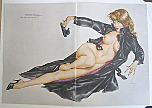 Alberto Vargas Pin Up Girl May 1966 Undercover