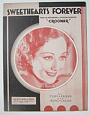 Sheet Music 1932 Sweethearts Forever