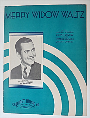 Sheet Music For 1935 Merry Widow Waltz