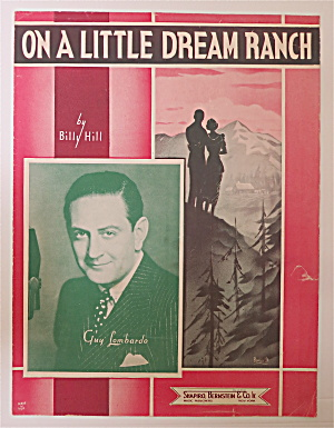 Sheet Music For 1937 On A Little Dream Ranch