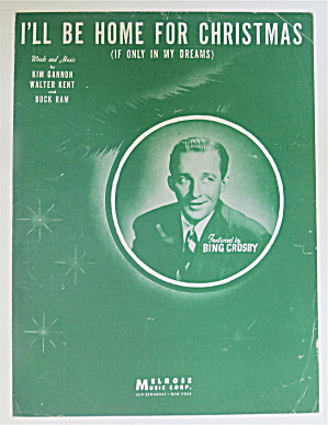 1943 I'll Be Home For Christmas With Bing Crosby