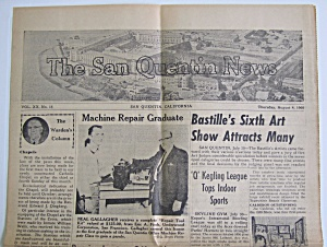 San Quentin News August 4, 1960 Vol Xx No. 16