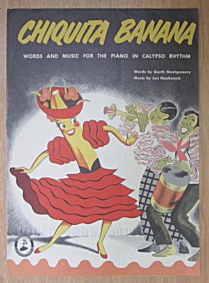 1945 Chiquita Banana Sheet Music