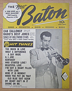 New Baton Magazine August-september 1944 Harry James