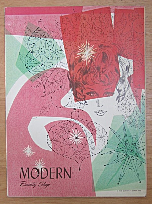 Modern Beauty Shop Magazine December 1967