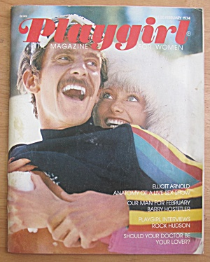 Playgirl Magazine February 1974 Barry Hostetler