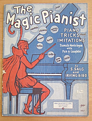 The Magic Pianist 1927 Piano Tricks & Imitations