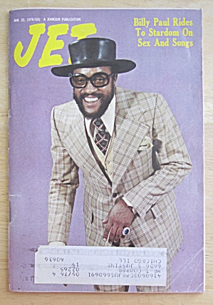Jet Magazine January 22, 1976 Billy Paul