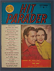 Hit Parader - Sept 1950 - Teresa Wright/marlon Brando