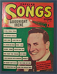 Popular Songs Magazine - Nov 1950 - Ralph Flanagan