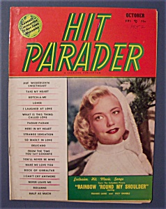 Hit Parader - Oct 1952 - Patrice Wymore Cover