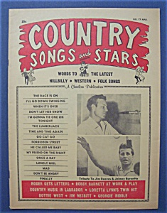 Country Songs & Stars Magazine - March 1965