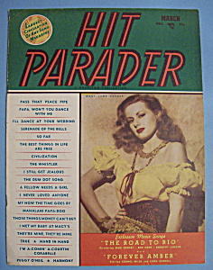 Hit Parader - March 1947 - Mary Jane Harker